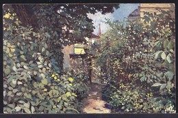VIEILLE CPA ARTISTE - TABLEAU - PEINTURE - ART * GEO GERLACH PINX - CHARME D'ETE - SUMMER CHARM -- BKDWI 2375 - Pittura & Quadri