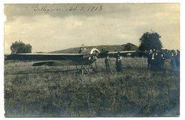 BELLEGARDE. Souvenir De L'aviation (F. De Marmier). Carte Photo Identique Au Cliché édité Par Luquet. - Bellegarde