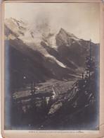 LE MONTBLANC, VU DE LA ROUTE DE LA FLEGERE. CIRCA 1900's. PHOTO FOTO. -LILHU - Luoghi