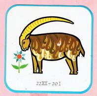 Sticker - Horoscoop - Steenbok - 22XII -20 I - Stickers