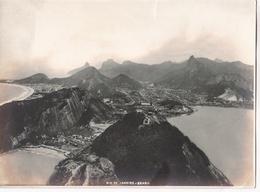 RIO DE JANEIRO - BRASIL. AEREAL VIEW. CIRCA 1920's. PHOTO FOTO. -LILHU - Luoghi