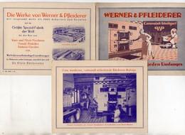 C3280/ Werner & Pfleiderer Stuttgart Cannstatt  Klapp AK Bäckerei-Anlagen 1926 - Stuttgart
