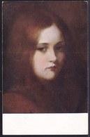 VIEILLE CPA ARTISTE - TABLEAU - PEINTURE - ART * GEORG BUCHNER - MIGNON * Seeman Leipzig Nr 2 - Fille - Girl - Pittura & Quadri