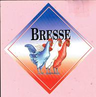 Sticker - BRESSE - Kippen - Stickers