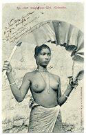 COLOMBO. Singhalese Girl (Nu Ethnique). Très Belle Carte!!!!! - Sri Lanka (Ceylon)
