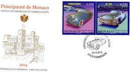 FDC - Emission Commune Monaco-Russie  -  Premier Jour - Sunbeam Alpine-Zil 111V  -  Envelope 1er Jour 2v - Voitures