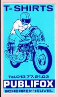 Sticker - T-SHIRTS - PUBLIFOX - Scherpenheuvel - Motor - Stickers