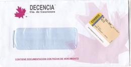 DECENCIA, Cia. DE CAUCION. ARGENTINA COMMERCIAL COVER, CIRCULATED YEAR 2019 -LILHU - Argentina