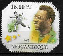 MOZAMBIQUE  N° 3872 * * Football Soccer Fussball Pelé - Soccer