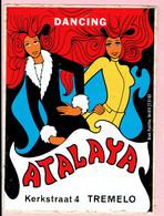 Sticker - DANCING - ATALAYA - Kerkstraat 4 TREMELO - Stickers