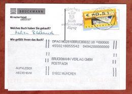 Karte, Briefkasten, MS Bier Muenchen Briefzentrum 80, Grafing Nach Muenchen 2002 (89383) - BRD