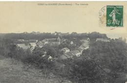 52  VITRY Les NOGENT   Vue Générale  CPA  écrite Vers 1905 - Autres Communes