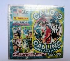 Album Completo Calciatori Calcio Calling Cards Collection 1997/98 - Panini
