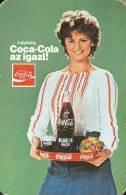 COCA-COLA * SOFT DRINK * WOMAN * GIRL * FOOD * BUDAPEST * CALENDAR * BLV 1980 * Hungary - Calendarios