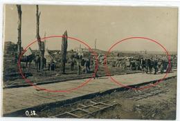 80 - Longueval - Équancourt Etricourt Manancourt - Lager  -carte Allemande Photo-1914-1918 WWI  1-6 - France