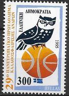1995 Griechenland Mi.1843 **MNH   Basketball-Europameisterschaft Der Männer - Ungebraucht