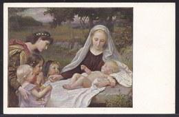VIEILLE CPA ARTISTE - TABLEAU - PEINTURE - ART * EMANUEL DITE - MADONNA WITH CHILD * - Pittura & Quadri