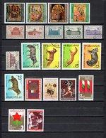 Bulgaria  1977 .-  Y&T Nº  2292/94-2298-2300/2305-2306/2310-2311-2312-2313-2314-2315-2316 - Bulgarie