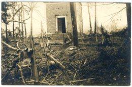 80 -  Manancourt Cimentiere - Équancourt - Etricourt Manancourt - Lager  -carte Allemande Photo-1914-1918 WWI  6-6 - France