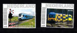 Trein, Train, Locomotive, Eisenbahn : Nederland Persoonlijke Zegels: Connexxion Protos Valleylijn + NS DDZ - Eisenbahnen