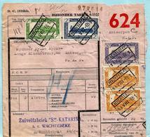 Landbouwcolli Zuivelfabriek Ste Katarina, Spoorwegafst. WACHTEBEKE 14/08/1951 - Ferrovie