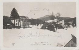 AK Harrachsdorf Harrachov Hotel Bellevue Neuwelt Seifenbach Jakobsthal Hoffnungsthal Strickerhäuser Riesengebirge Winter - Sudeten