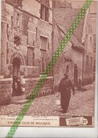 Touring 1938, Diest, Elsenborn (4blz), Ixelles (4blz), La Gaume (2blz), Kerk Roosebeke Zwalm(4blz),Tanganyika (2blz) - Culture