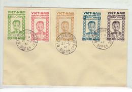 VIET NAM - FDC 1ER JOUR TP N°40/44 - 21/10/1946 - TTB - Viêt-Nam