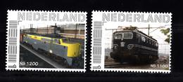 Trein, Train, Locomotive, Eisenbahn : Nederland Persoonlijke Zegels: NS 1200 + NS 1100 - Eisenbahnen