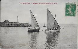 LA NOUVELLE    Bateaux De PËCHE  Sortant Du Port - Port La Nouvelle