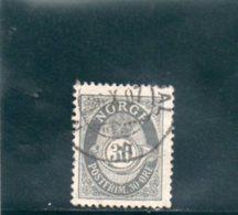 NORVEGE 1894-1907 O - Norvège