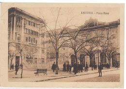 CARTOLINA - ANCONA - PIAZZA ROMA - VIAGGIATA 1920 - Ancona