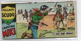 """Capitan Miki """"Collana Scudo""""  Striscia (Dardo 1958)  Serie XIV°  N. 9 - Libri, Riviste, Fumetti"""