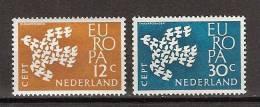 NVPH Netherlands Nederland Niederlande Pays Bas Holanda 757-758 MNH Europa Zegels Europe Stamps Timbres Sellos D'Europa - 1961