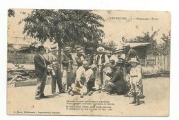 Cpa  Jeu De Boules Pétanque La Fanny -hommage-1910- - Pétanque