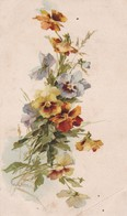 Illust. KLEIN . Branche De Fleurs (type Pensées ) Ref. S. 290 . E. - Klein, Catharina
