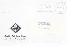 """Drucksache  """"Schweiz.Automobil- Und Motorradsportclub, Uster""""          1998 - Svizzera"""