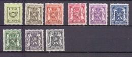PRE 511/519  PREOS POSTFRIS** 1944 - Typo Precancels 1936-51 (Small Seal Of The State)