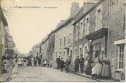 SAINT SAUVEUR-LENDELIN  Rue Principale (belle Animation) - Autres Communes