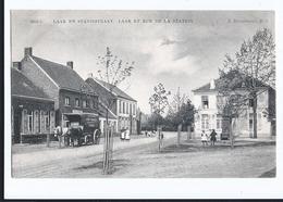 Moll Laar En Statiestraat Rue De La Station  Oblitérée De Broechem En 1908 - Mol