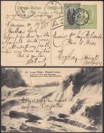 Congo Belge 1919 - Entier Postal 5 C En Carte Postale Nr. 64- Vue:  Chutes De La Pozo Près Stanleyville......(DD) DC6160 - Stamped Stationery