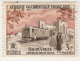 Afrique Occidentale Francaise 1956 FIDES Train YT 56 - Usati