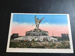 VERDUN Le Mort Homme «ils N'ont Pas Passé» Monument élevé à La Memoire Des Morts De La 69e Division - 1937 Timbrée - Monuments Aux Morts