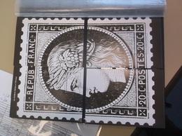 2019 - 4 Blocs 1/4 Feuillet Gommé Phil@poste - Le Timbre Cérès à 170 Ans - Quart Du Cérès - Neuf - Philaposte - Documents Of Postal Services