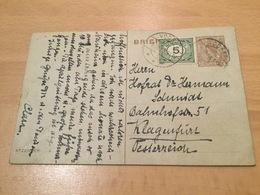 K8 Niederlande Ganzsache Stationery Entier Postal P 159 Von Voorst Nach Klagenfurt - Postal Stationery
