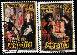 SPANJE 1981 - MICHEL 2522/2523 - USED / GESTEMPELD / OBLITERE - 1931-Aujourd'hui: II. République - ....Juan Carlos I