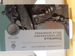SAN MARINO 2016 EURO 2 FDC  DONATELLO - San Marino