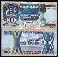 Billet Ouganda 100 Shillings - Uganda