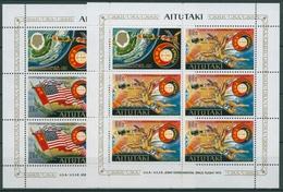Aitutaki 1975 Raumfahrtunternehmen Apollo-Sojus 139/40 K Postfrisch (C28725) - Aitutaki