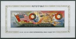 Aitutaki 1975 Raumfahrtunternehmen Apollo-Sojus Block 5 Postfrisch (C28727) - Aitutaki